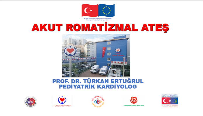 Prof. Dr. Türkan ERTUĞRUL's presentation on 'Acute Rheumatic Fever' in the context of the second institutional training in Batman