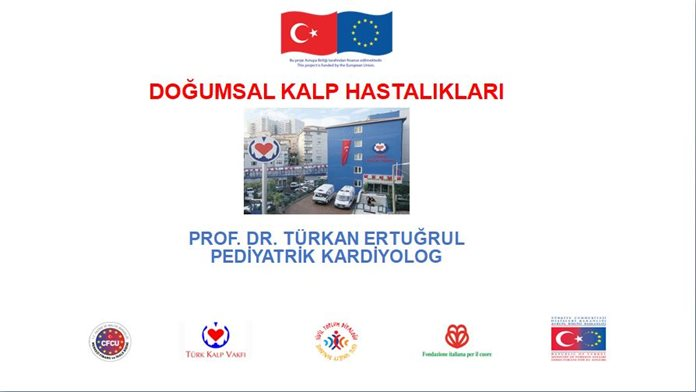 Prof. Dr. Türkan ERTUĞRUL's presentation on 'Cardiovascular Deseases at Birth' in the context of the first institutional training in Batman